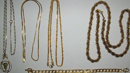 Police are appealing to find the owners of the items pictured