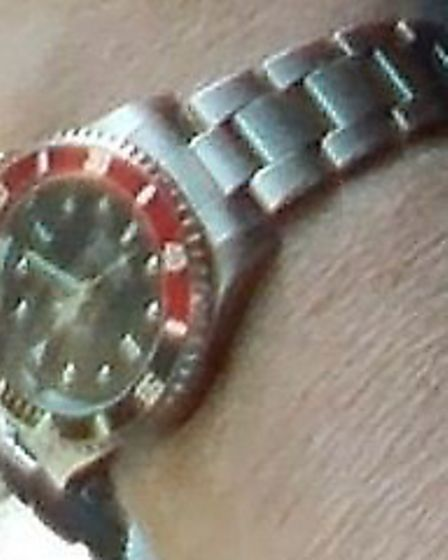 This Rolex watch was stolen from a property in Letchworth.