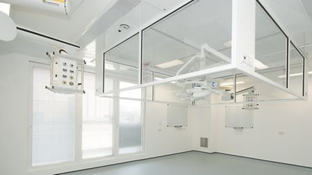 One of the operating theatres at the new centre at Lister Hospital in Stevenage
