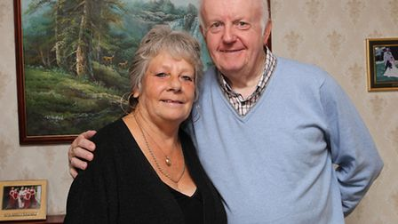 Marie and Tony Lines are celebrating their 50th wedding anniversary this year