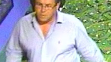Police want to speak to this man in relation to an alleged assault in Stevenage