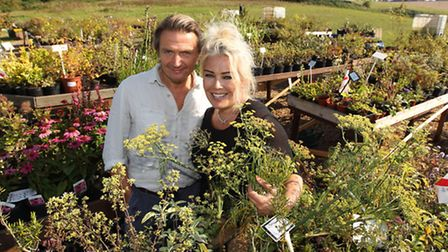 Hal Fowler and Kim Wilde will attending the Waste Not Want Not fundraiser on Saturday