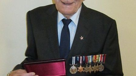 George Godfrey was awarded the Ushakov medal at the Embassy of the Russian Federation in London.