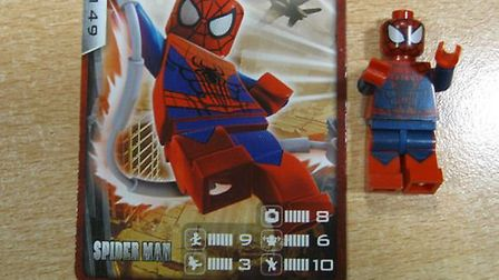 Fake LEGO superheroes were some of the 2,315 items imported