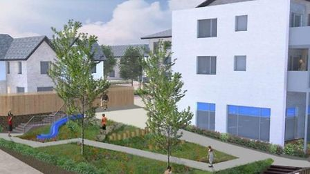 How the redeveloped Archer Road neighbourhood centre in Stevenage could look