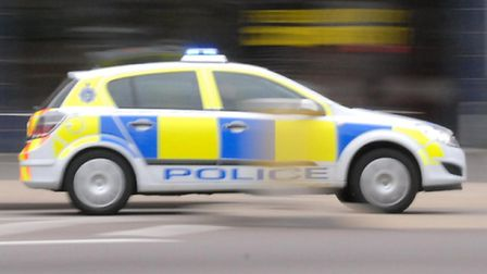 Police were called to a two-car crash near Royston this morning.