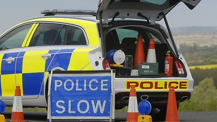 A man has been cut free from his car following a crash on the A602 between Stevenage and Hitchin.