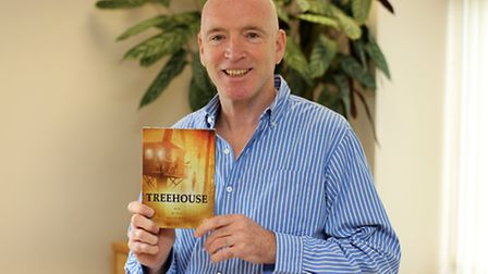Steve Weston with his dvd which went to number 1 in the itunes horror film charts