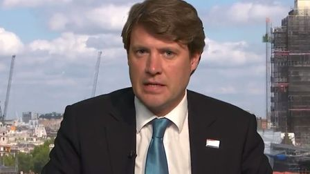 Health minister Chris Skidmore struggled to defend claims that cash for the NHS announced by Boris J