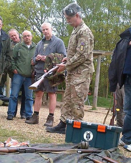 A previous Herts at War and Battlefield Honours event at Bisley in August last year