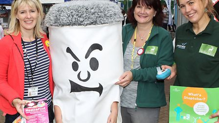Spreading the word: Stoptober is a national drive against smoking