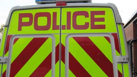 Police closed one lane of the A505 following the crash