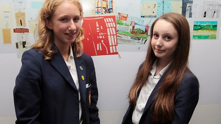 Sophie Horlack and Emily Barr were just two of many students from Year 7, 8, 9, 10 and 13 to play th
