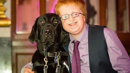Max and Chloe win the 2014 Hearing Dogs Awards to recognise their life-changing partnership