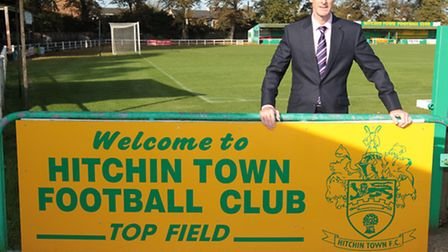 Andy Melvin owner of Hitchin Town FC
