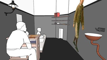 Saffron Walden Town Hall basement would be transformed into interactive Victorian cells, as they onc