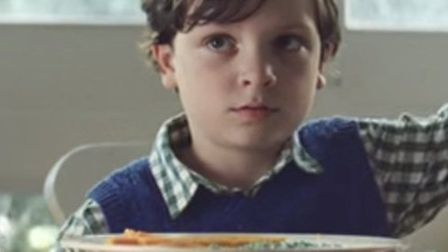 Rhys Edwards, eight, from Stevenage in this year's John Lewis Christmas advert. Still taken from You