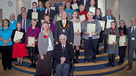 Uttlesford''s unsung heroes were celebrated at a ceremony on Thursday, November 6.