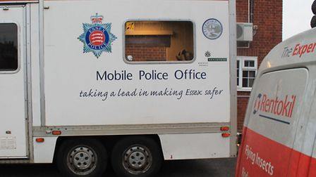 """Saffron Walden Police Station has been closed this week, following reports of a """"rat infestation""""."""