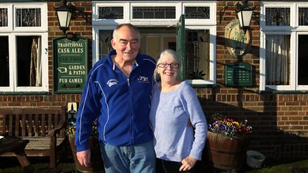 Phil and Sue are waving goodbye to the pub after 14 years
