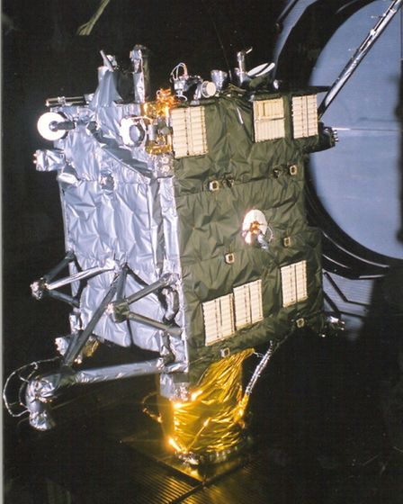The Rosetta before it was launched in 2004.