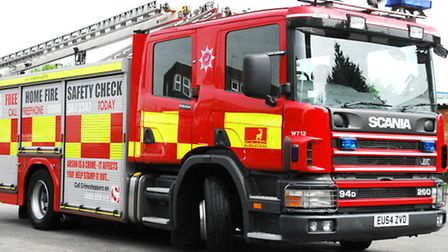 Crews were called to an overnight wood recycling plant fire near Melbourn last night.