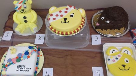 A parents bake-off competition and cake auction was also held at the nursery and more than £100 was