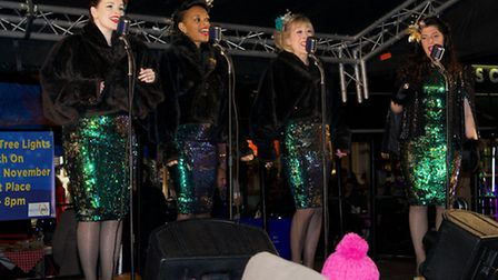 A swinging night of delight from Genie and the Jivebombers in the Market Place