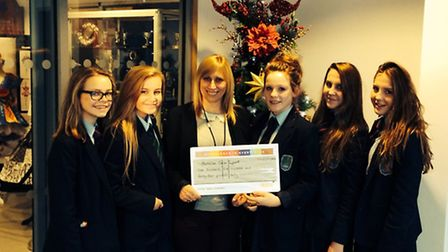 Nobel School students have raised more than £1,500 for the Lister Macmillan Cancer Centre, where te