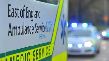 The man was taken to Lister Hospital in Stevenage to be treated for his injuries.