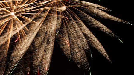Thousands turned out for the fireworks night in Saffron Walden. Picture: Joe Higham.