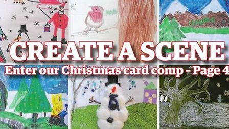 The Reporter is running a Christmas card competition for youngsters in Uttlesford.