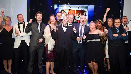 The Stevenage-based Partners in Support team received the Most Innovative Care Company prize on the