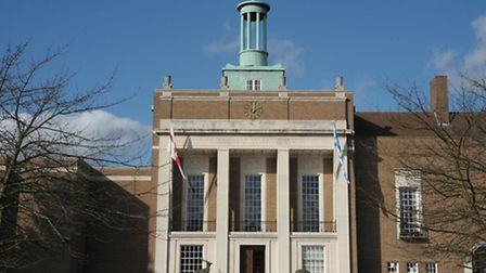 County Hall, in Hertford