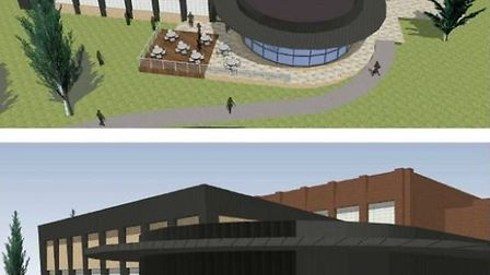 Artists impression of the leisure centre