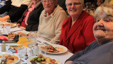 Pensioners from Whittlesford, Duxford, Hinxton, Ickleton and surrounding areas enjoyed a Christmas l