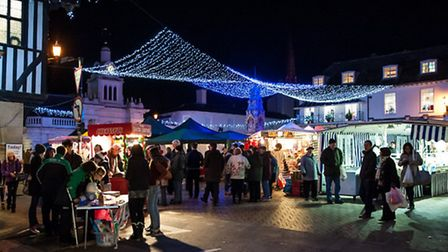 Thousands of people turned out for the late night shopping event in Saffron Walden town centre last
