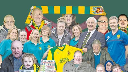 Young and old are urging people to get behind the Hitchin Town FC march on Saturday. Picture: Peter
