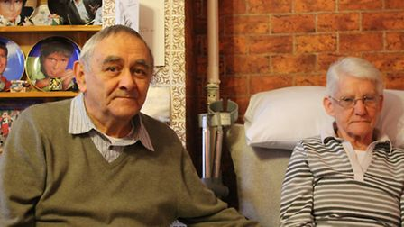 David and Evelyn Pithers, pictured in their home on Frambury Lane, Newport.