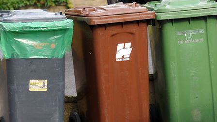 North Herts is top for recycling