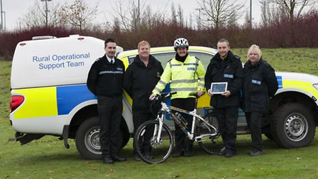 Inspector Jason Thorne - who heads up the ROST overall, Sergeant Jamie Bartlett – who leads the ROS