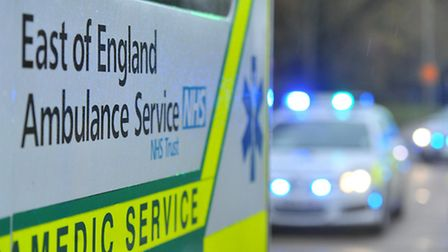 Ambulance and police were called to Brand Street in Hitchin this morning.