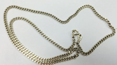Do you recognise this gold chain which was seized in Bedfordshire?