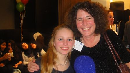 Ekaterina Rahr-Bohr, 14, from Saffron Walden, received her Guardian Young Critics Award at a ceremon