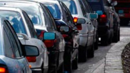 Traffic delays in Hitchin reported on Upper Tilehouse Street, Pirton Road and Gray's Lane following