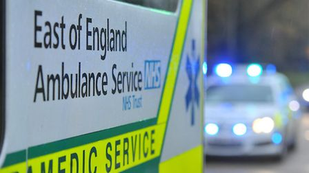 Police and ambulance crews were called to London Road.