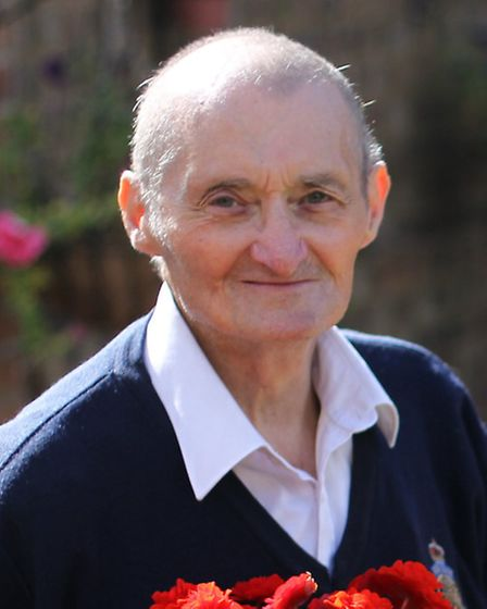 The late Ray Cole who was recognised with a British Empire Medal.