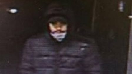 CCTV images of suspect involved in two failed robbery bids in Letchworth