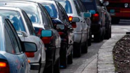 There are long delays around Hitchin after a two-crash in Preston.