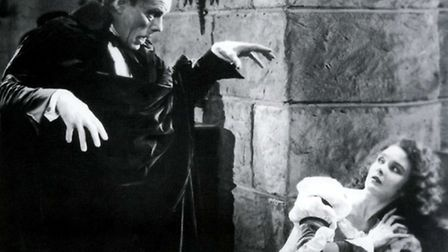 Lon Chaney in the 1925 silent classic Phantom Of The Opera